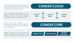 Plataforma Conera V2COM